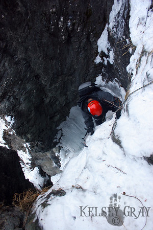 Ice Climbing Caribou Creek 11/23/07 & 12/15/07