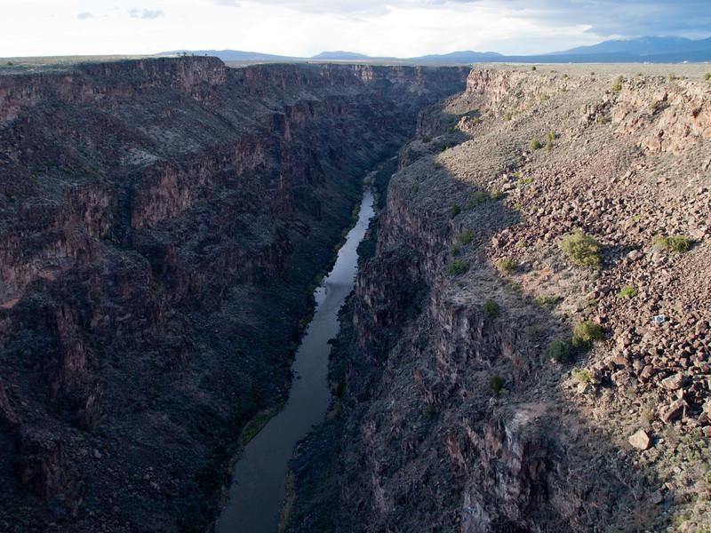 Rio Grande River and gorge