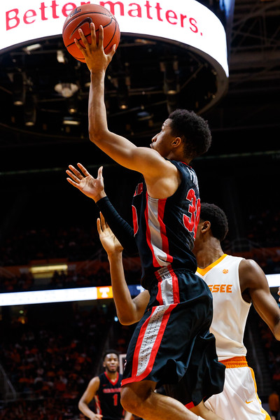 NCAA Basketball 2017: Georgia vs Tennessee FEB 11