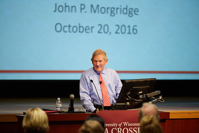 2016 UWL Cleary Lecture CBA John Morgridge Cisco