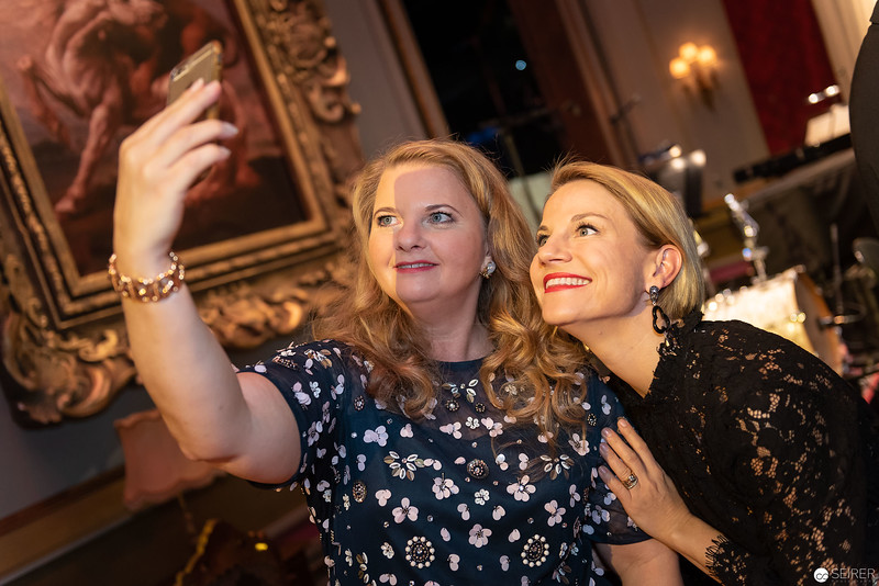 Ulrike Beimpold, Kristina Sprenger - Nestroy Gala 2018