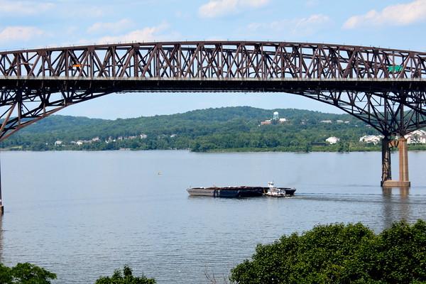 At the Newburgh-Beacon Bridge NY