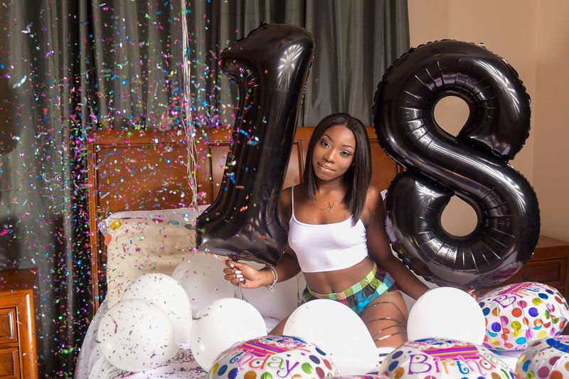 Keniece Rolle 18th birthday
