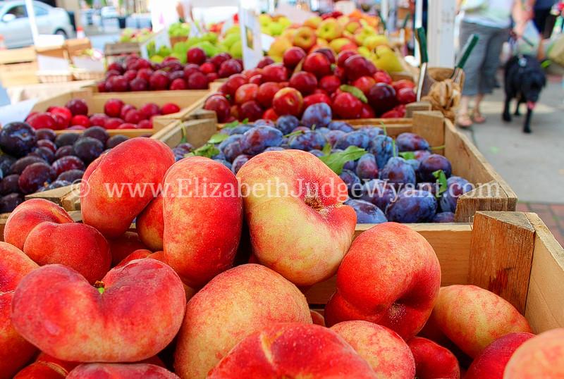 Farmers Market fruit. 8/31/2013