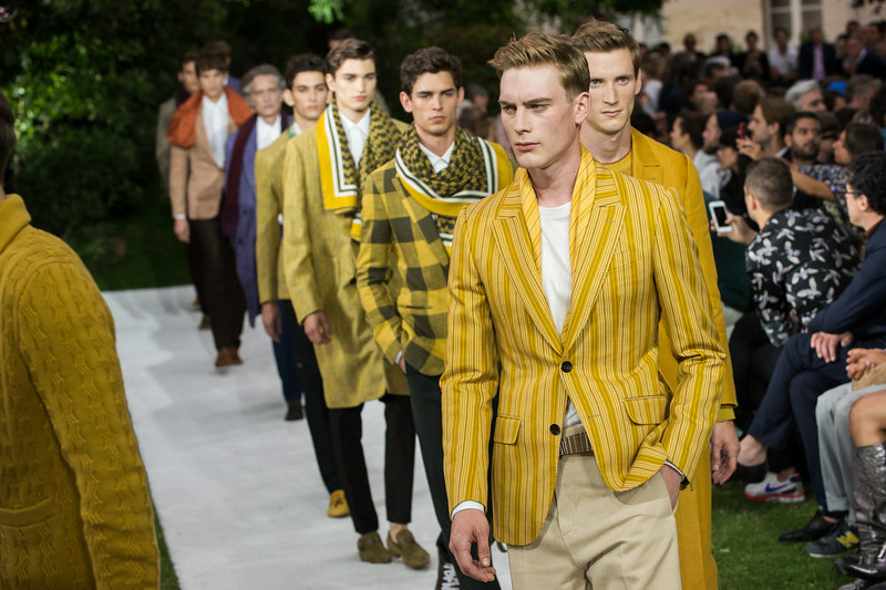 . Models walk the runway during the Berluti  show as part of the Paris Fashion Week Menswear Spring/Summer 2015 on June 27, 2014 in Paris, France.  (Photo by Francois Durand/Getty Images)