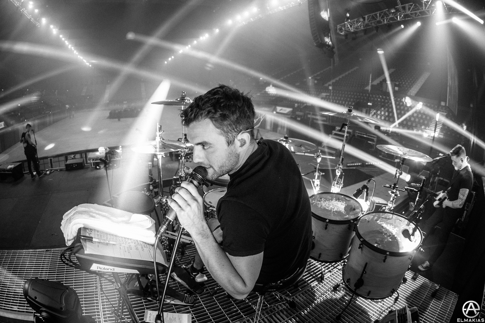 Talk back mic so Rian can talk to everyone