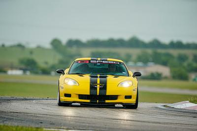Yellow C6 Z06 Corvette