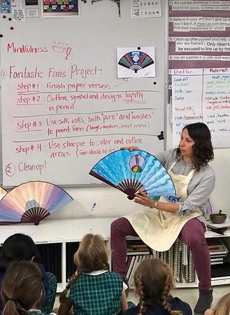 Fourth Grade Identity Fan Project | February 28, 2019