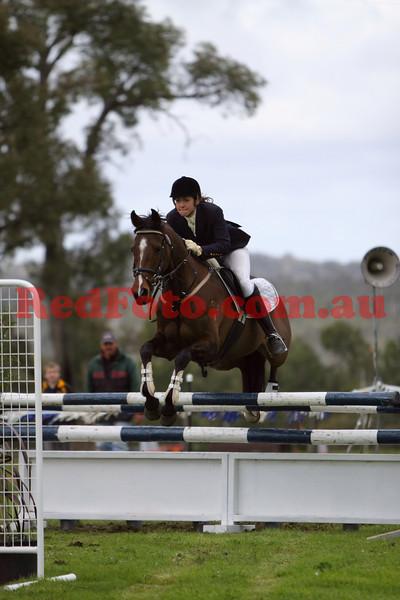 2009 08 23 Wooroloo II ShowJumping PreNovice Junior