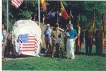 Tillet and Pirompré, Belgium - Plaque Dedication - June, 1996