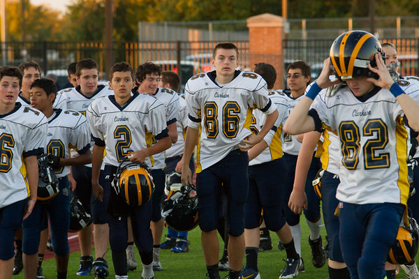 Freshman Football 10-9-2014