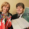 Pictured is Enterprise Minister Angela Smith and Eddie McVeigh, Head of the European Commission Office in Northern Ireland. 06W16N136