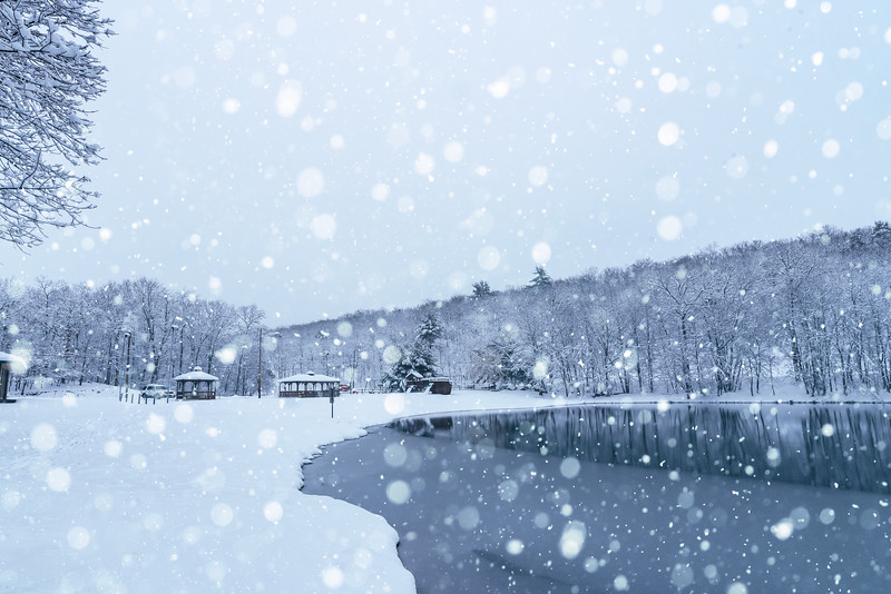 Winter at Highland Lake, PA
