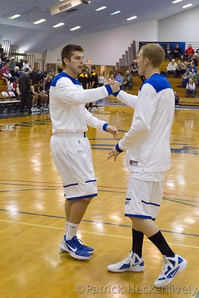2012-01-28 Hillsdale College Men's Basketball vs. Michigan Tech