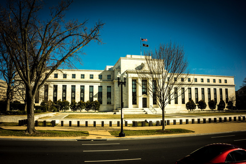 Looking for Bernanke at the Federal Reserve Building