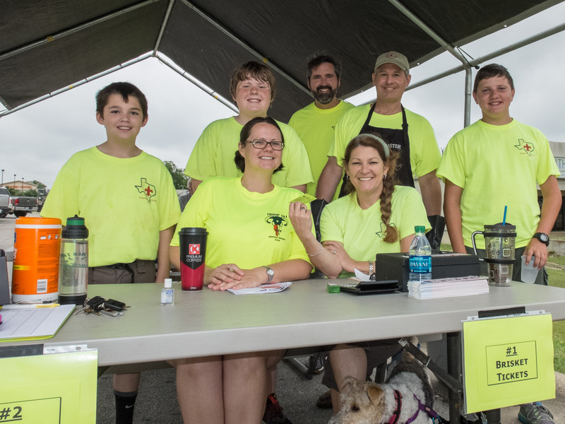 Dripping Springs Troop 101 Brisket Fundraiser, 2014