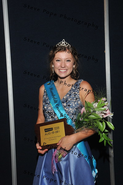 Humboldt County Fair Queen Kate Curran, 18, of Humboldt, was named First Runner-up during the 2017 Iowa State Fair Queen Coronation Ceremony on Aug. 12. (Iowa State Fair/ Steve Pope Photography)