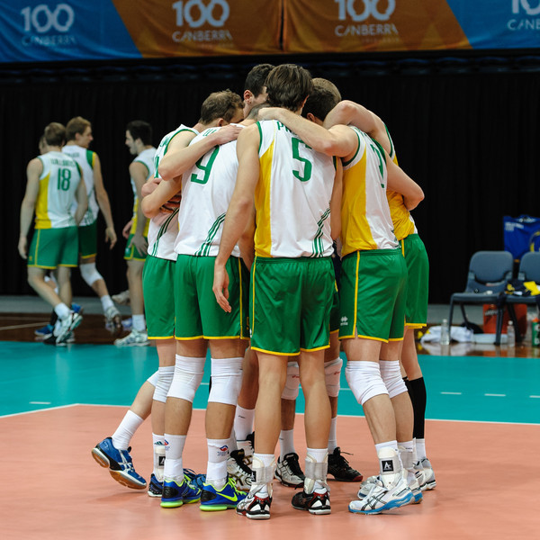 Aiustralian team introductions.