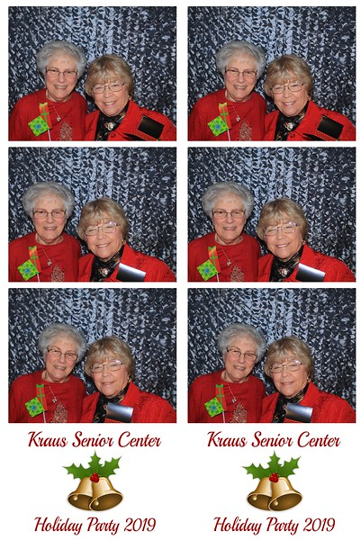 "Kraus Senior Center ""Holiday Party 2019"""