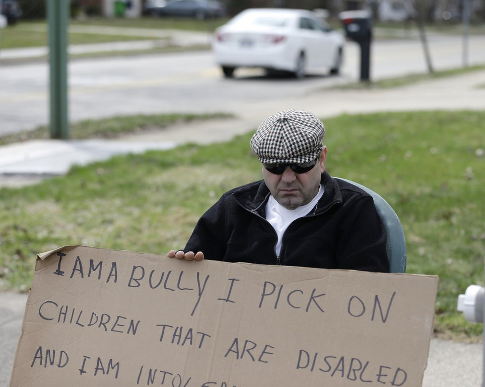 ". <p>4. (tie) BULLIES <p>Looks like we�ll need some new laws to protect them from discrimination. (unranked) <p><b><a href=\'http://www.twincities.com/localnews/ci_25548871/joe-soucheray-new-anti-bullying-bill-seems-more?source=hottopics\' target=""_blank\""> HUH?</a></b> <p>    (AP Photo/Tony Dejak)"