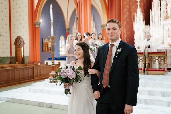 The Drane Wedding at Holy Family Cathedral and Tulsa Historical Society in Tulsa Oklahoma