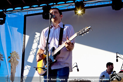 The Weakerthans at 2011 FYF Fest - at LA Historic State Park - Los Angeles, CA - September 3, 2011