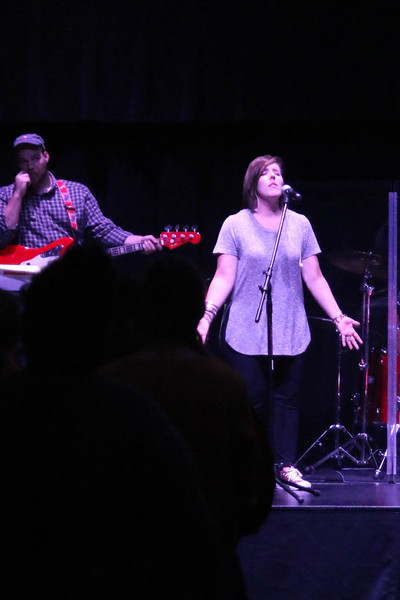 Friday evening, Rachel Rushing, from Broad River Community Church,  led the students in a time of worship.