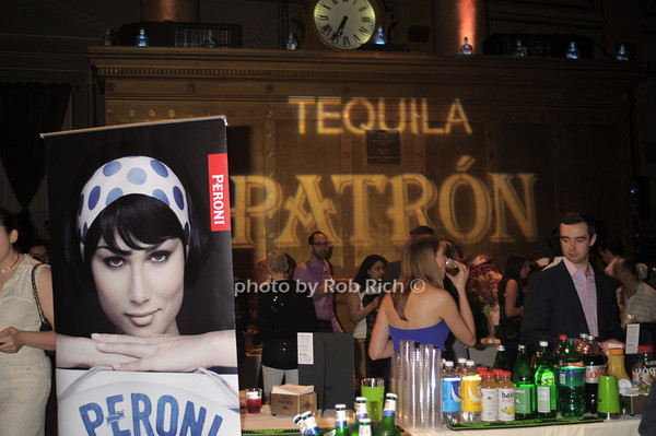Patron Tequila and Peroni Beer photo by Rob Rich/SocietyAllure.com © 2014 robwayne1@aol.com 516-676-3939