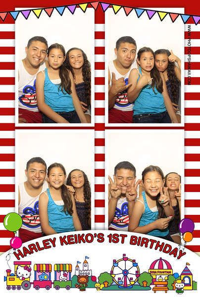 Harley Keiko's 1st Birthday (Luxe Photo Booth)