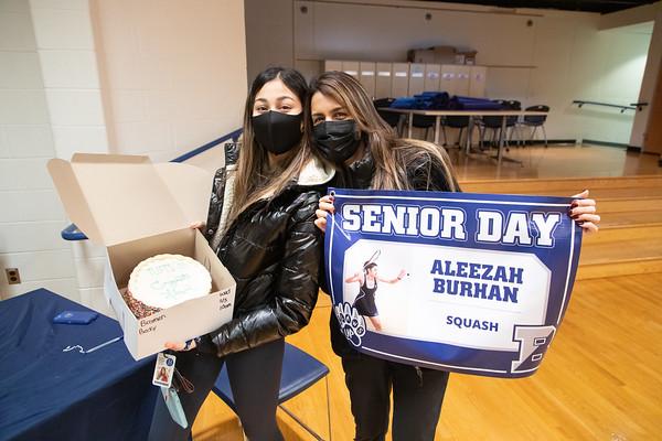Senior Day Squash vs. EA