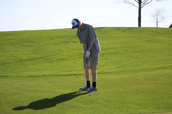 Siouxland Conference boys' golf at The Ridge in Sioux Center 5-2-19