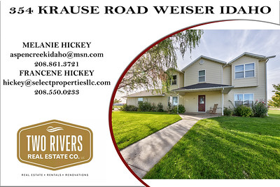 354 KRAUSE ROAD WEISER IDAHO - MELANIE HICKEY