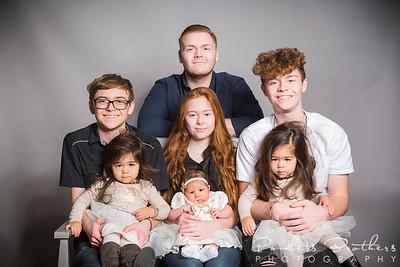 Rosas Family Portraits