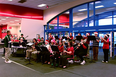 2009 Jazz Band Christmas Performance at Target - Deidre F.
