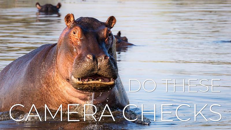 Wildlife and Outdoor Photography Pre-shoot Camera Checklist