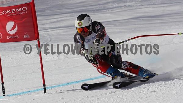 2015 Eastern FIS Finals Giant Slalom Mens U18 U21 3/10/15