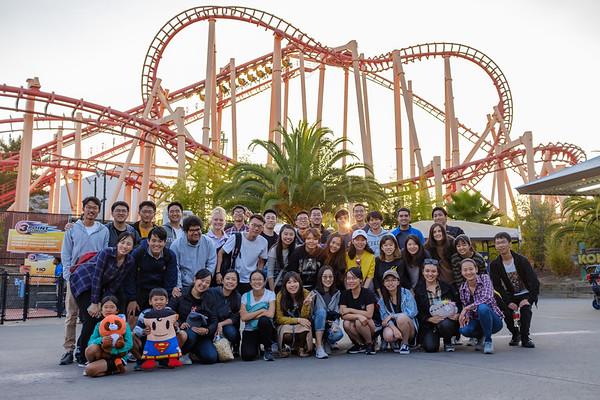 2018-09-01 IUSM Six Flags Trip