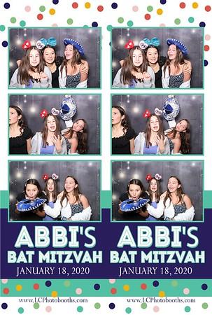 Abbi's Bat Mitzvah