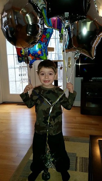 Eli's 4th Birthday - 2015