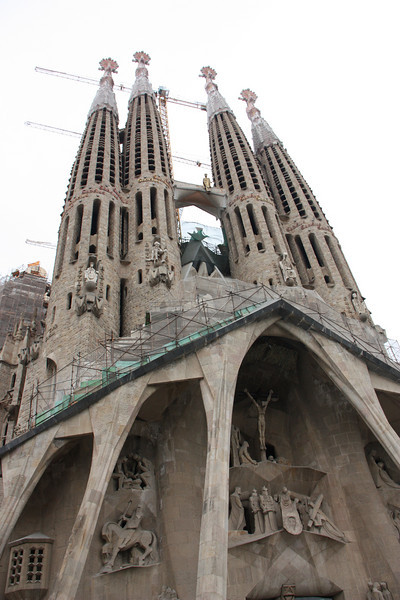 I learned quickly that Gaudi was one crazy dude.
