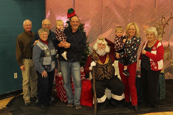 Santa Clause @YMCA 2018