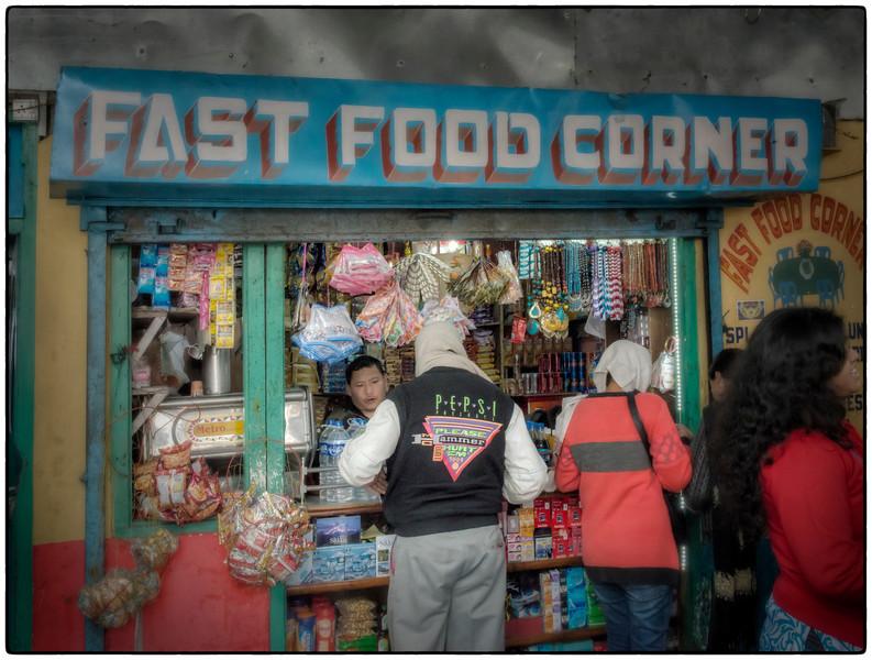 Lunch near Gangtok, Sikkim, India.