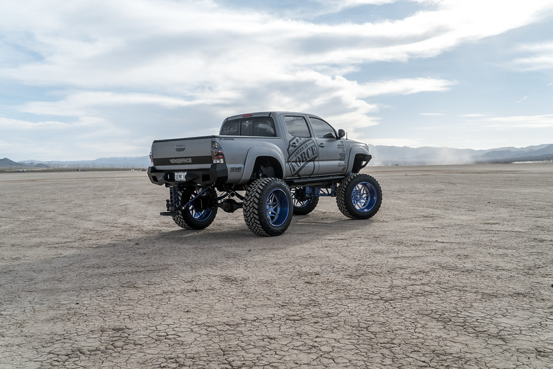 @T_harper96 @Vengeance_tacoma 2005-15 Toyota Tacoma featuring our New 2019 Concave 24x14 Lollipop Blue #GENESIS wrapped in 40x1550x24 @NittoTire-82.jpg