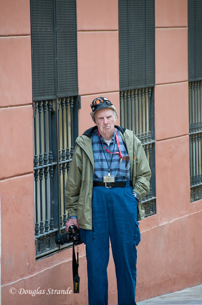 Sun 3/13 in Malaga: Bill waits for the crowd to clear out