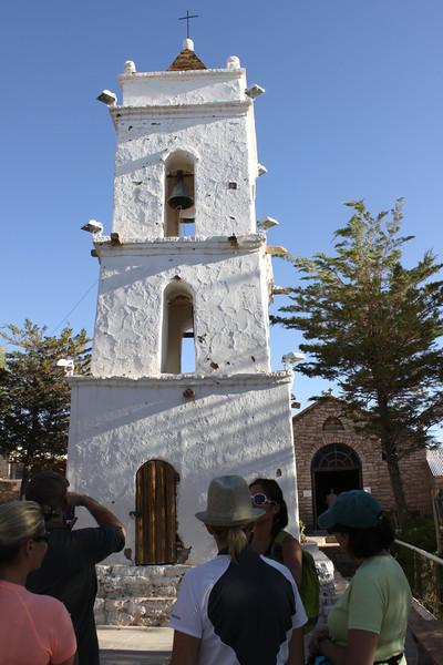 Toconao village in the Atacama Desert