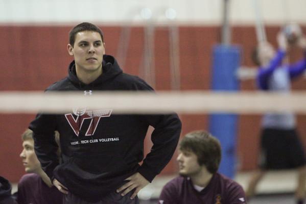 Virginia Tech Club Volleyball - 1-28-2012