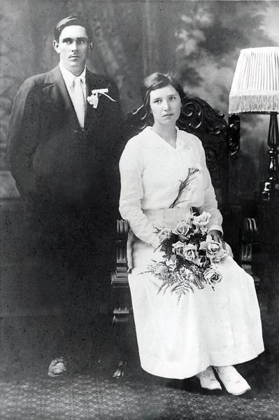 Sanford and Eva (Mapes) Clark