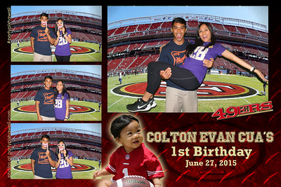 Colton's 1st Birthday (Multi-Photo Collage)