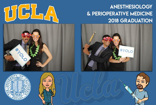 UCLA Anesthesiology & Perioperative Graduation 2018
