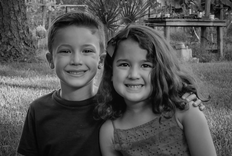 Gennaro kiddos duo b&w.jpg